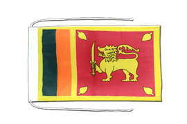 Sri Lanka Flag - 8x12""
