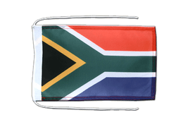 South Africa - Flag with ropes 8x12""