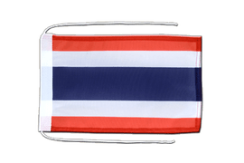 Thailand - Flag with ropes 8x12""