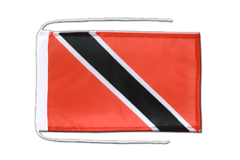 Trinidad and Tobago - Flag with ropes 8x12""