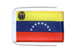 Venezuela 8 stars - Flag with ropes 8x12""