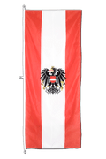 Austria eagle - Vertical Hanging Flag 80 x 200 cm