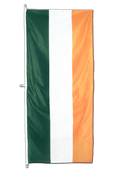 Ireland Vertical Hanging Flag - approx 2 x 6 ft