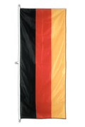 Vertical Hanging Flag Germany - approx 2 x 6 ft