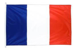 France Snap Hook Flag - 100 x 150 cm