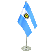 Argentina - Satin Table Flag 6x9""