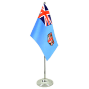 Fiji - Satin Table Flag 6x9""