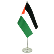 Palestine - Satin Table Flag 6x9""