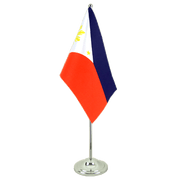 Philippines - Satin Table Flag 6x9""