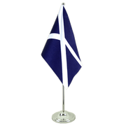 Scotland navy - Satin Table Flag 6x9""