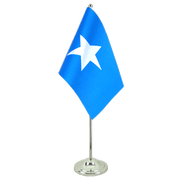 Somalia - Satin Table Flag 6x9""