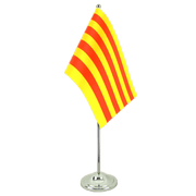 Catalonia - Satin Table Flag 6x9""