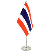 Thailand - Satin Table Flag 6x9""