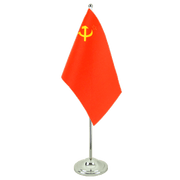 Drapeau de table prestige URSS - 15 x 22 cm