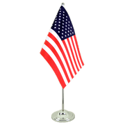 Drapeau de table prestige USA - 15 x 22 cm