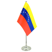 Venezuela 8 stars - Satin Table Flag 6x9""