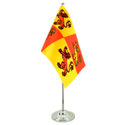Wales Royal Owain Glyndwr - Satin Table Flag 6x9""