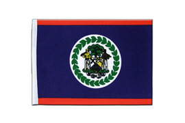 Belize - Satin Flag 6x9""