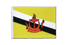 Brunei - Satin Flag 6x9""