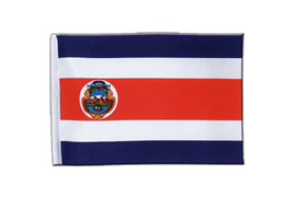 Costa Rica - Satin Flag 6x9""