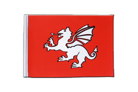 Pendragon new - Satin Flag 6x9""