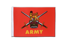 British Army - Satin Flag 6x9""