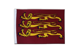 Drapeau en satin Richard Coeur de Lion - 15 x 22 cm