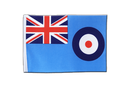 Großbritannien Royal Airforce RAF - Satin Flagge 15 x 22 cm