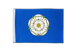 Yorkshire new - Satin Flag 6x9""