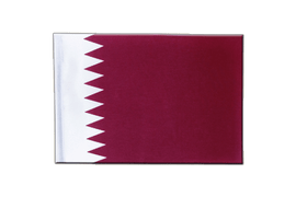 Qatar - Satin Flag 6x9""