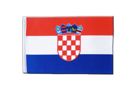 Croatia - Satin Flag 6x9""