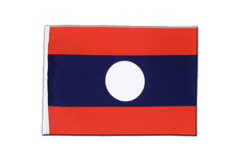 Laos - Satin Flag 6x9""