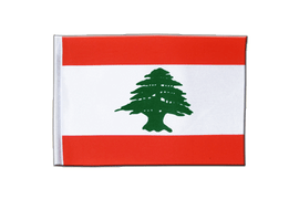 Lebanon - Satin Flag 6x9""