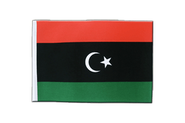 Kingdom of Libya 1951-1969 Opposition Flag Anti-Gaddafi Forces - Satin Flag 6x9""