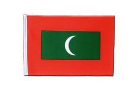 Maldives - Satin Flag 6x9""