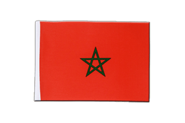Morocco - Satin Flag 6x9""