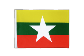 Myanmar new - Satin Flag 6x9""