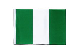 Nigeria - Satin Flag 6x9""