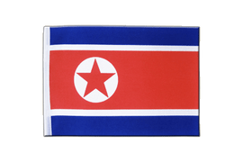 North corea - Satin Flag 6x9""