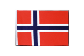 Norway - Satin Flag 6x9""
