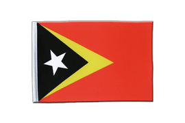 East Timor - Satin Flag 6x9""