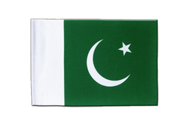 Pakistan - Satin Flag 6x9""