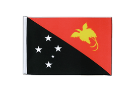 Satin Flag Papua New Guinea - 6x9""