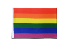 Rainbow - Satin Flag 6x9""