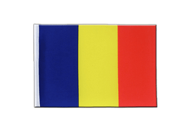 Satin Rumania Flag - 6x9""