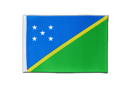 Solomon Islands - Satin Flag 6x9""