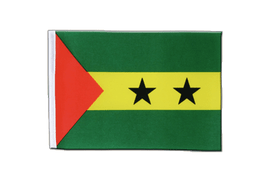 Sao Tome and Principe - Satin Flag 6x9""