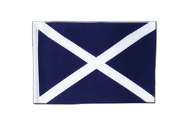 Scotland navy - Satin Flag 6x9""