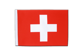 Satin Flag Switzerland - 6x9""