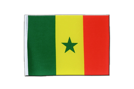 Senegal - Satin Flag 6x9""